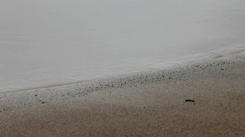 water and sand Stock Video Footage