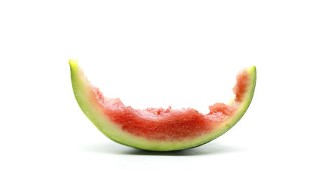 Eating Watermelon Stock Video Footage