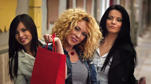 Shopping Fever Stock Video Footage