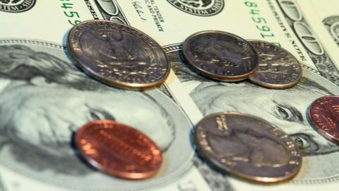 American Money Stock Video Footage