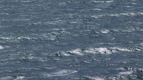 Giant Ocean Sea stock footage