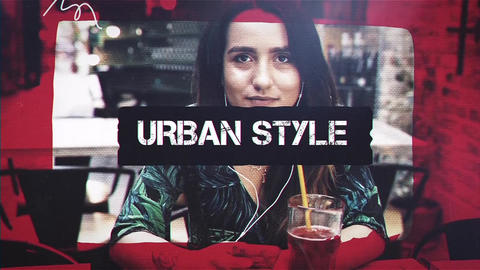 Urban Style After Effects Template