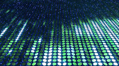 Glitter Back perspect line Green3 4k CG動画