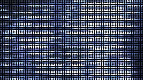 Glitter Back horizon line Silver 4k Animation