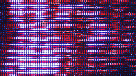Glitter Back horizon line Red3 4k Animation