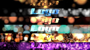 Bokeh Particle Logo Pack After Effects Template