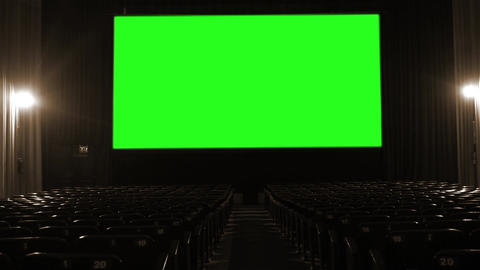 Cinema with Green Screen Archivo