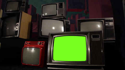 OLD GREEN SCREEN TV COLLECTION 2