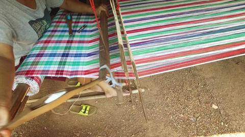 Weaving inThailand Footage