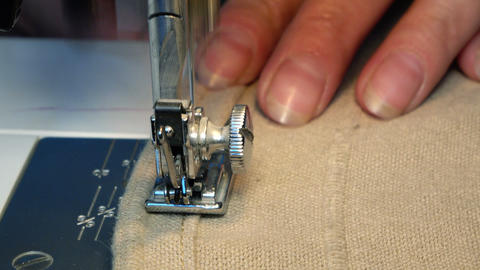 Video of Sewing Machine Footage