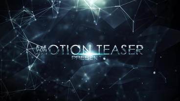 Cinematic Motion Teaser After Effects Template