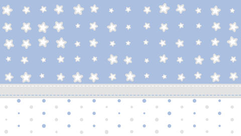 Stars and Dots Background GIF