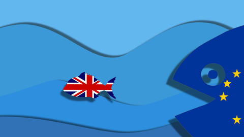 Britain Brexit Animation