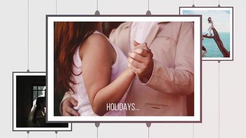 Wedding Memories. Clean Romantic Slideshow Premiere Proテンプレート