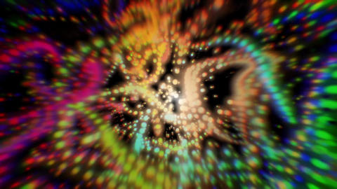 Colorful abstract fluid wave motion Animation