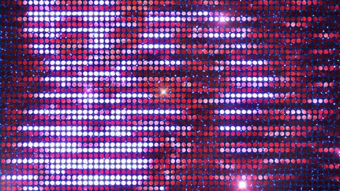Glitter Back horizon line Red3 Flash 4k CG動画