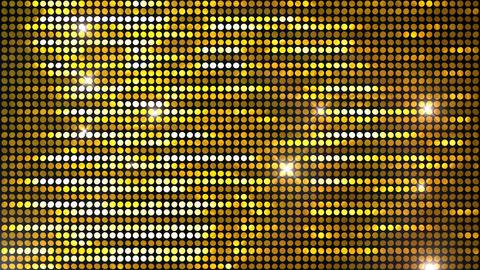 Glitter Back horizon line Gold Flash 4k Animation