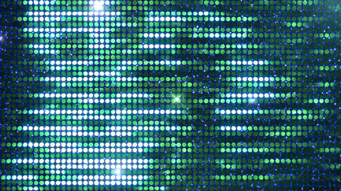 Glitter Back horizon line Green3 Flash 4k CG動画