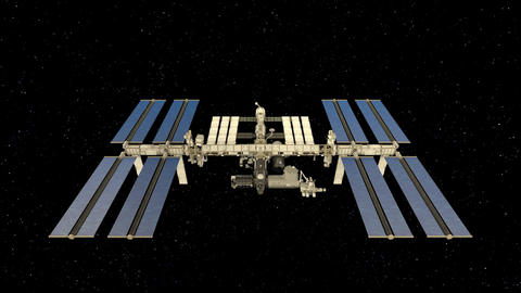 Space station GIF