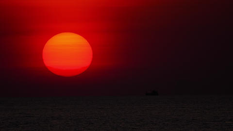 Sunset landscape at Phuket Footage