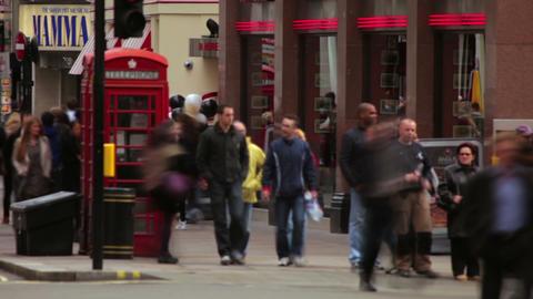 Crossroad in London Footage