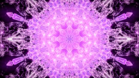Kaleidoscopic pink animated background loop Animation
