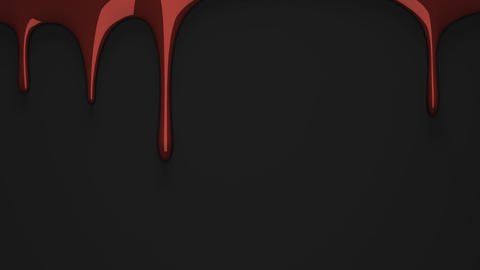 Brown liquid on black background Animation