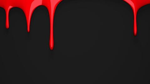 Red liquid on black background CG動画