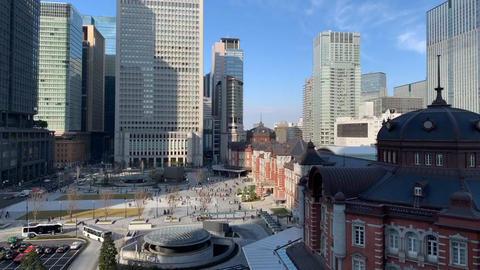 Tokyo Station TimeLapse Footage