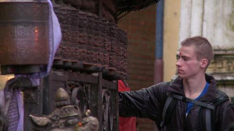 Kathmandu buildings Footage