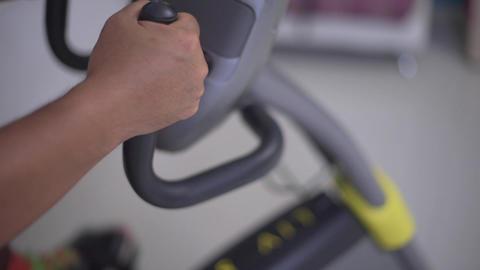 Bike fitness 3 Footage