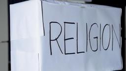 Religion Box Label Footage