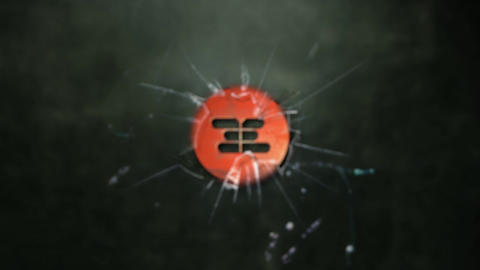 BROKEN GLASS LOGO INTRO After Effects Template