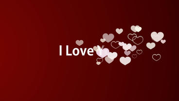 I Love You Photo Slideshow After Effects Template