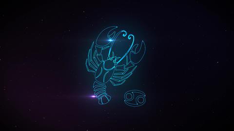 astrological icons, horoscope animation Animation