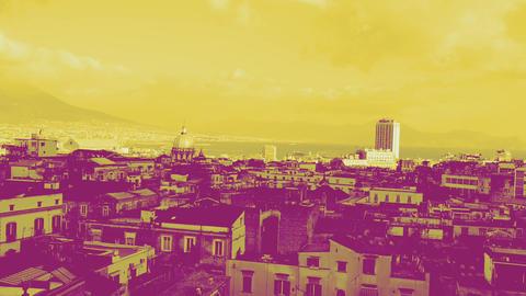 Naples bicromic Footage