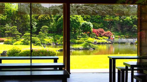 Makuhari Mihama Park Chiba Japan Footage