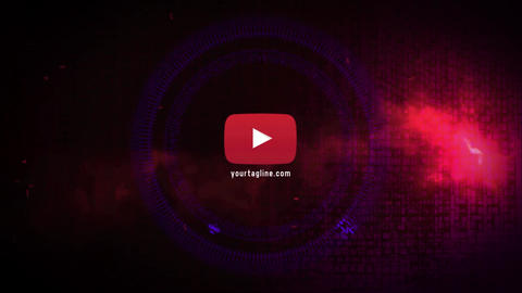 Logo Glitch Flash 4K After Effects Template