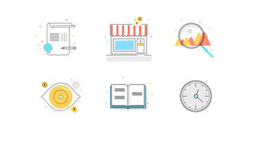 Animated Icons Collection Plantilla de After Effects
