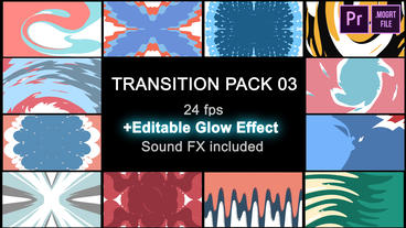 Transitions Pack 03 Motion Graphics Template