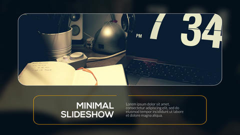 Minimal Modern - Presentation After Effects Template