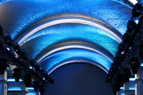 Lighting and roof decorations Fotografía