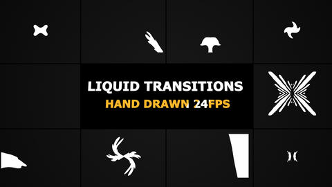Liquid Transitions Motion Graphics Pack GIF