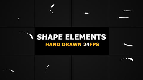 Shape Elements Motion Graphics GIF