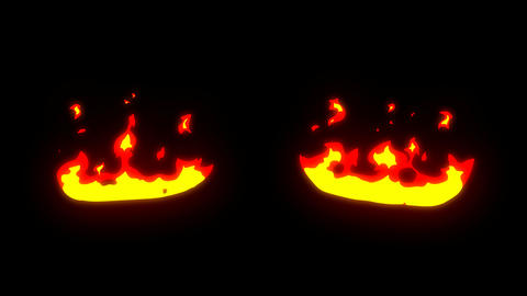 Fire Elements Pack Motion Graphics Animation