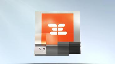 Flipping Tiles Logo Plantilla de After Effects