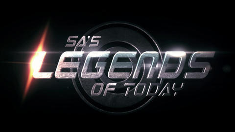 Legends Of Today Title Reveal After Effects Template