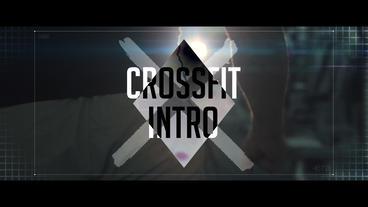 Crossfit intro Premiere Proテンプレート