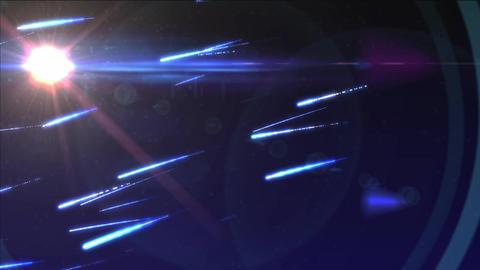meteor's rain Animation
