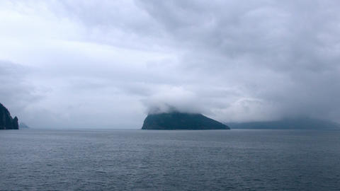 Time-lapse from a cruise ship leaving Seward, Alaska Footage